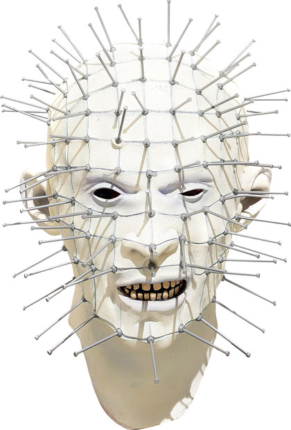 Hellraiser Pinhead Movie Costume Mask