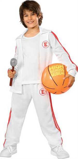 Deluxe Child's Troy High School Musical Costume