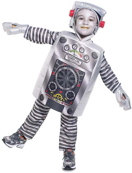 Toddler Robot Costume