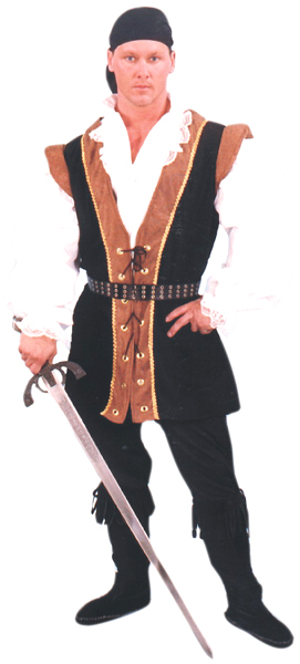 Renaissance Pirate Costume