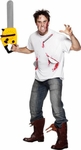 Adult Saw Blades Horror Easy Costume