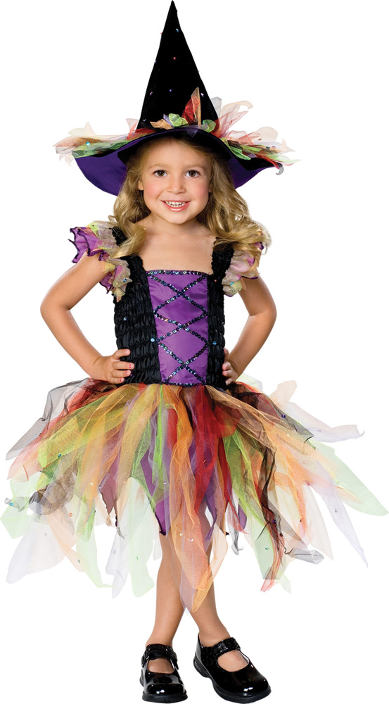 Child's Princess Glitter Witch Costume