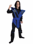 Child's Sub-Zero Mortal Kombat Costume