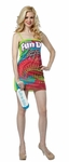 Adult Fun Dip Wrappers Costume Dress