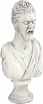 Female Bust Haunted House Statue Prop
