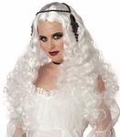 White Gothic Princess Wig
