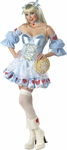 Adult Rebel Toons Alice In Wonderland Costume