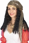 Adult Gypsy Wig And Scarf