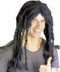 Adult Long Black Dreadlocks Wig