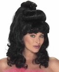 Black Sex Kitten Wig