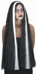 Long Streaked Witch Wig