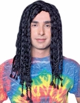 Men's Black Rasta Wig