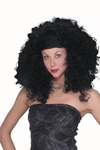Short Black Curly Wig