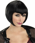 Women's Black Vamp Wig
