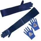 Blue Costume Gloves