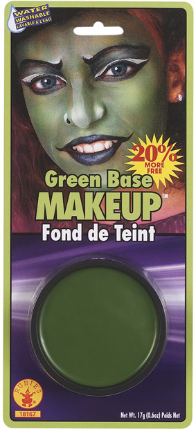 Green Grease Makeup