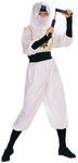 Women's White Ninja Costume