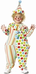 Toddler Hooped Circus Clown Costume