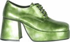 Men's Green Platform Shoes