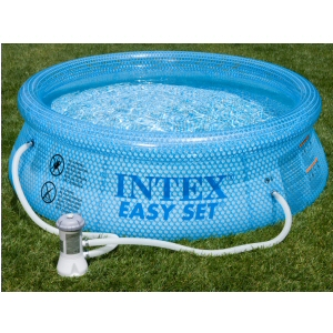 "Intex 8' x 30"" Clearview Pool with Filter Pump"