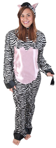 Adult Zebra Costume