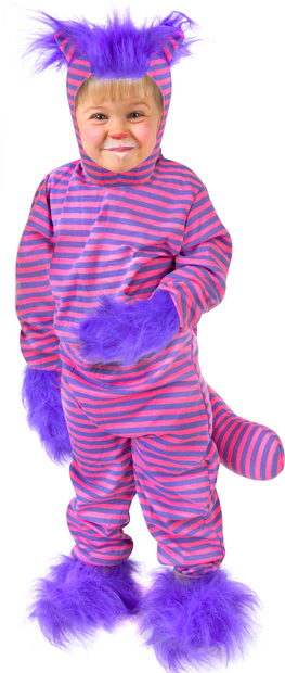 Toddler Alice in Wonderland Cheshire Cat Costume