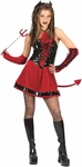 Teen Corsette Devil Girl Costume
