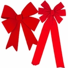 Red Christmas Bows