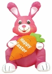 4' Inflatable Easter Bunny w/ Carrot