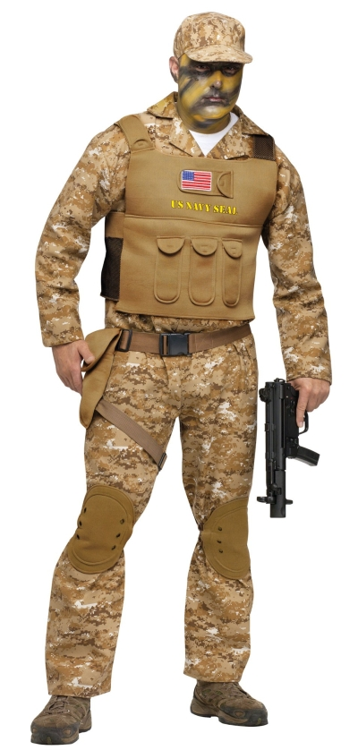 Adult Navy Seal Team 6 Costume Standard