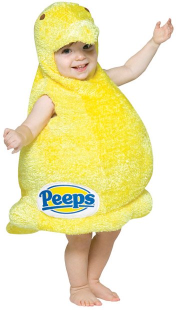 Baby Peeps Candy Costume