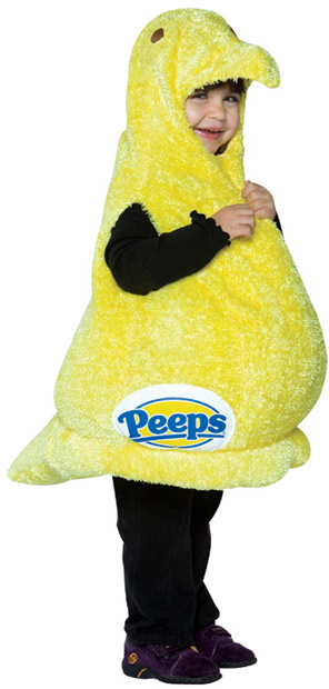 Toddler Peeps Candy Costume