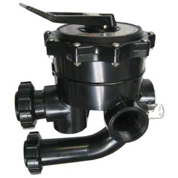 "Hayward Multi-Port Valve 2"" D.E. Filter"