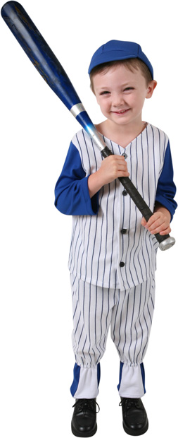 Child's Baseball Costume