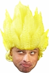 Adult Yellow Anime Wig