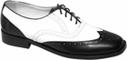 Men's 50s Wing Tip Shoes