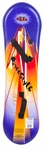 Flexible Flyer 110cm Freestyle Foam Snowboard