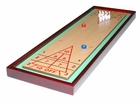 Wooden Shuffle Board with Bowling