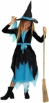Child's Turquoise Witch Costume