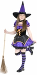 Preteen Midnight Witch Costume