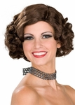 Brown Roxie Hart Wig