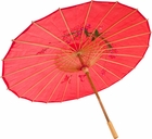 Fuchsia Chinese Umbrella Costume Prop