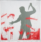 Man With Knife Shower Curtain