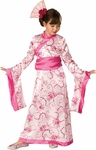Child's Pink Geisha Girl Costume