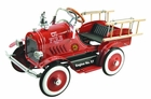 Antique Pedal Car Fire Engine