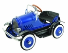 Blue Roadster Antique Pedal Car