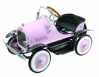 Pink Roadster Antique Pedal Car
