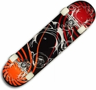 Elite Buddha Labeda Orange/Red Skateboard