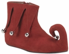 Child's Red Christmas Elf Shoes