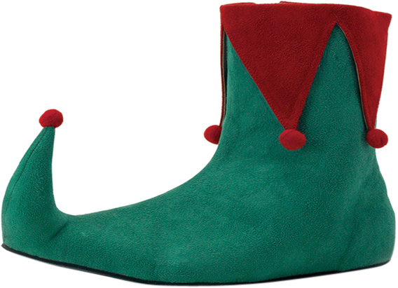 Men's Christmas Elf Shoes